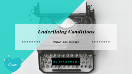 underlining conditions header