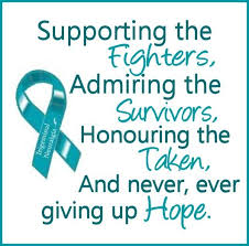 ribbon support teal