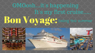 It's my first cruise.....