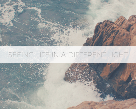 Seeing life in a Different light
